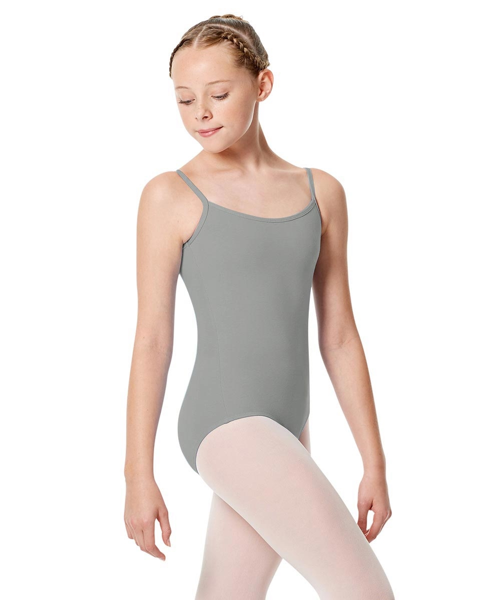 Girls Camisole Leotard Chantal GREY