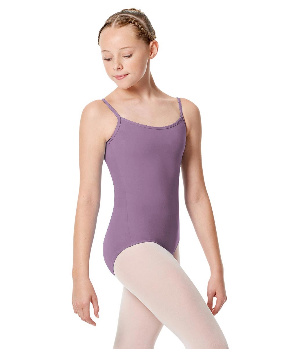 Girls Camisole Leotard Chantal LAVENDER