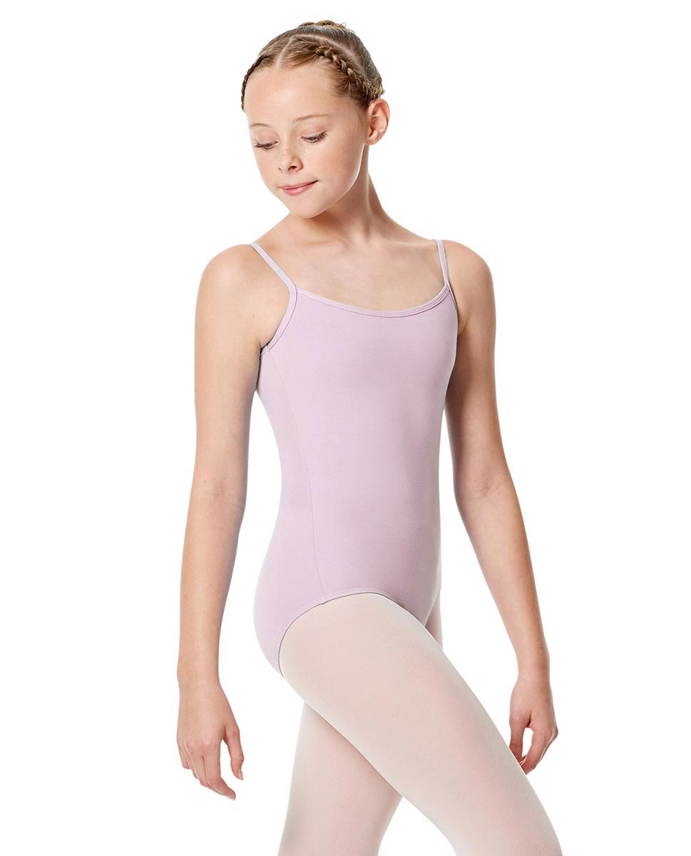 Girls Camisole Leotard Chantal LILAC