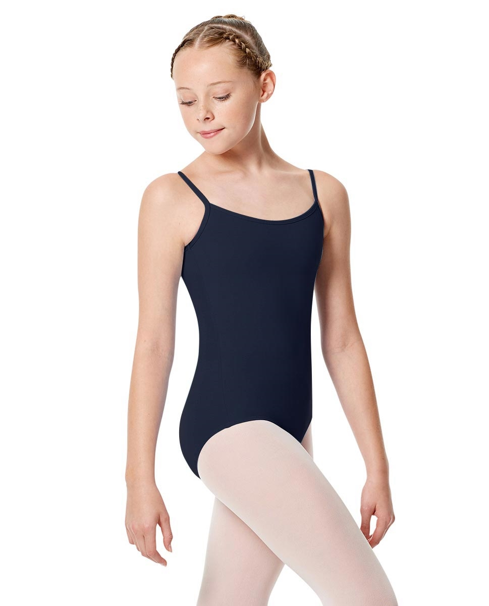Girls Camisole Leotard Chantal NAVY