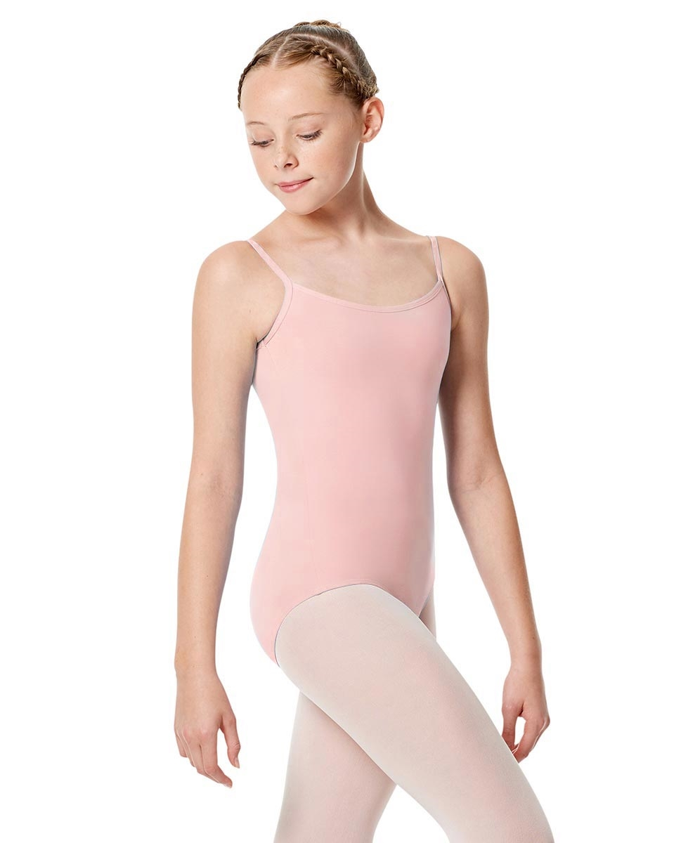 Girls Camisole Leotard Chantal PINK