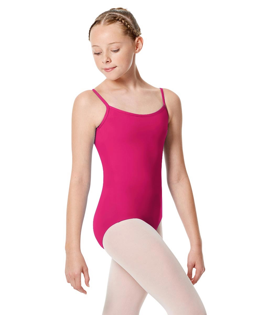 Girls Camisole Leotard Chantal RASPBERRY