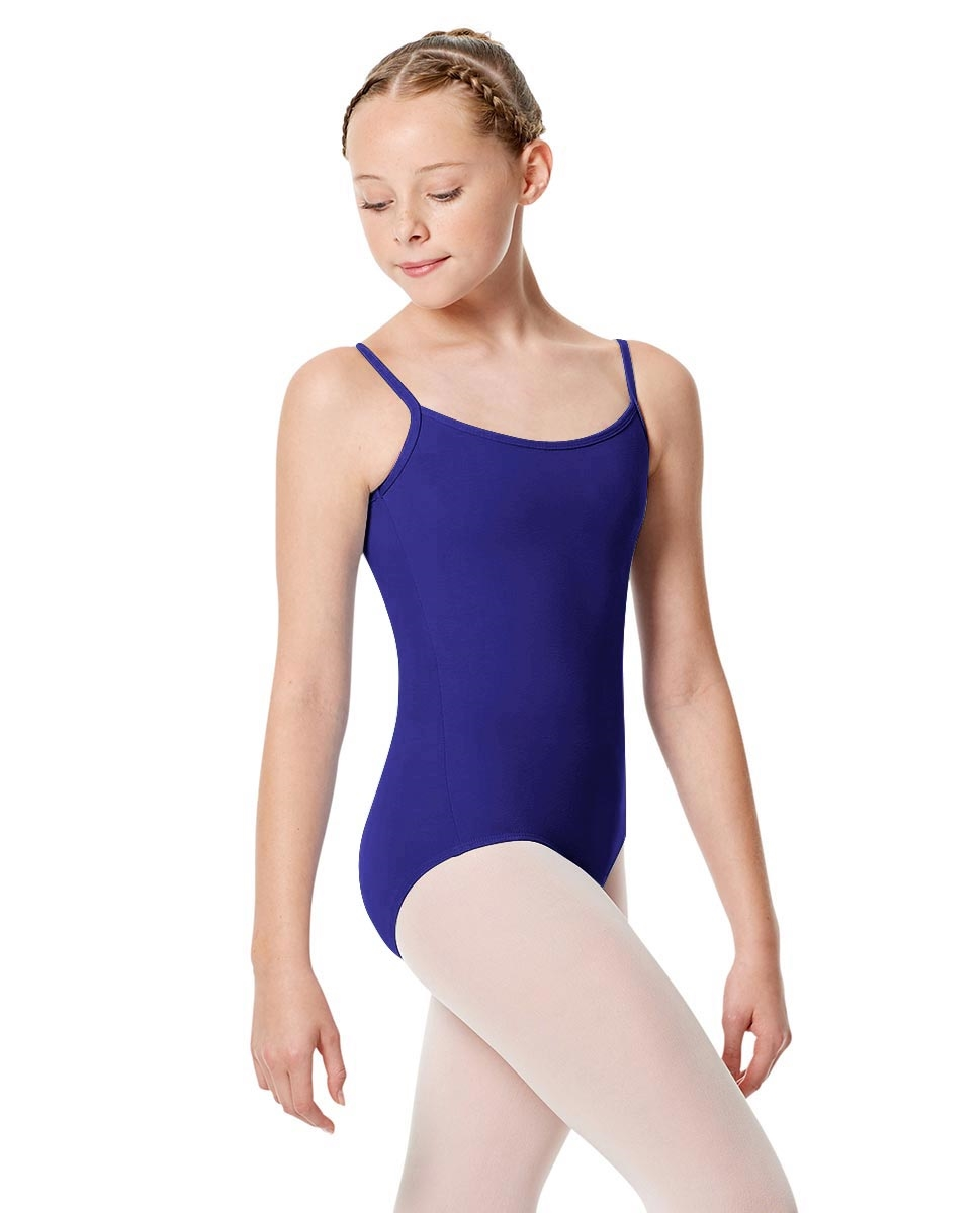 Girls Camisole Leotard Chantal ROYAL