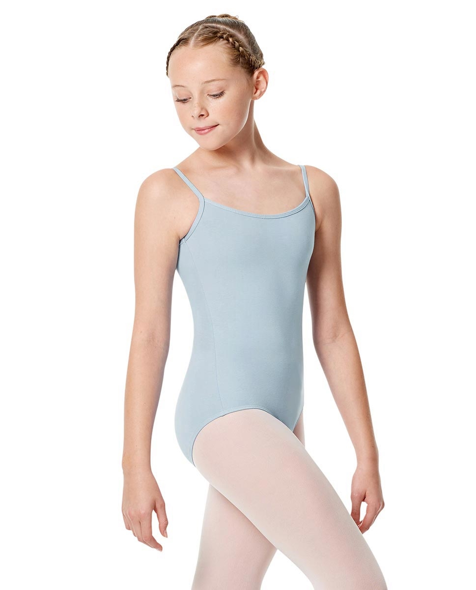 Girls Camisole Leotard Chantal SKY