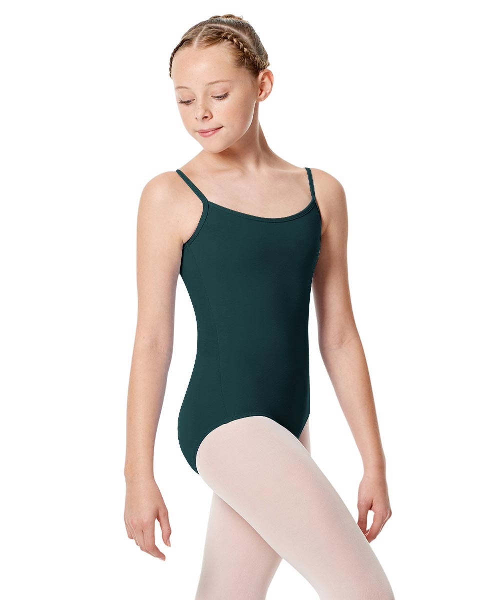 Girls Camisole Leotard Chantal TEAL