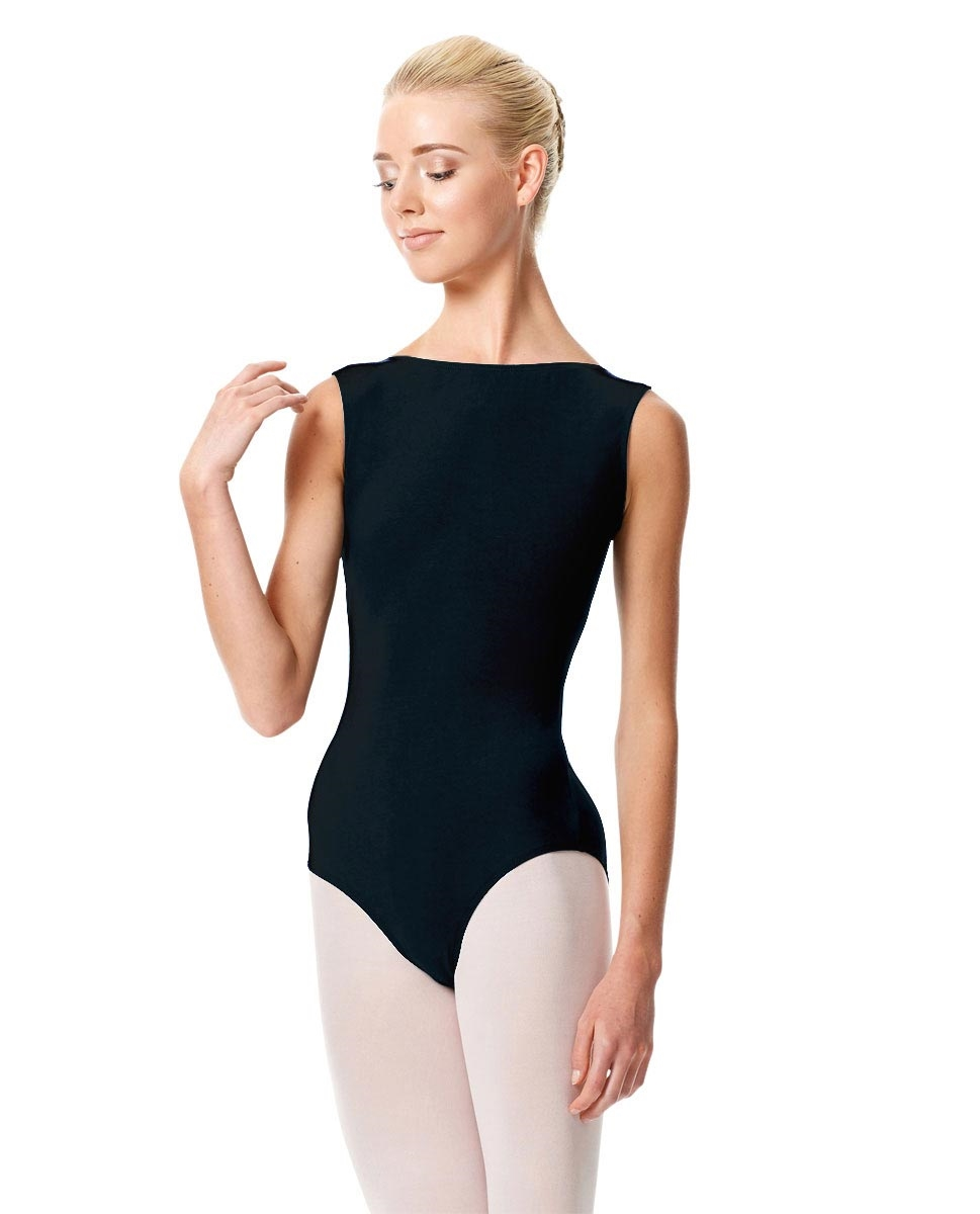 High Neckline Tank Leotard Olimpia MIDNIGHT NAVY