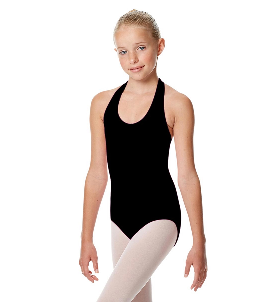 Girls Halter Dance Leotard Tamara BLACK