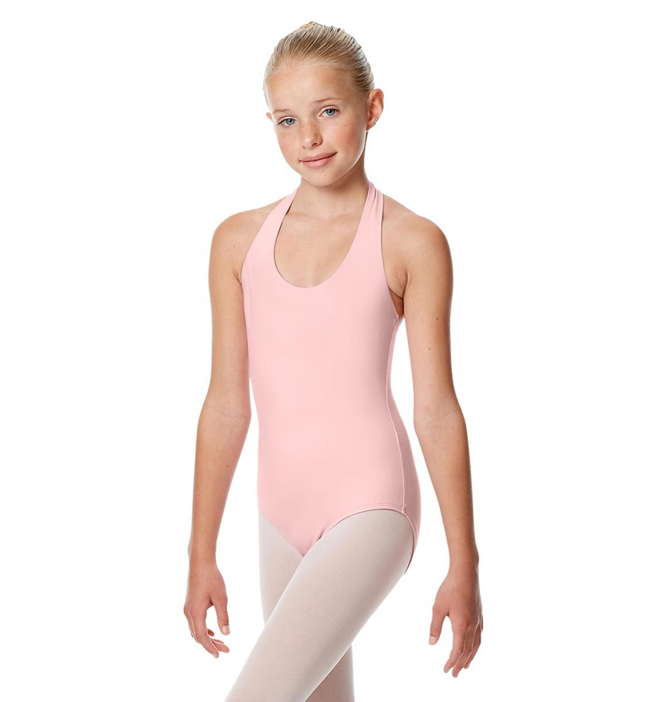 Girls Halter Dance Leotard Tamara PINK