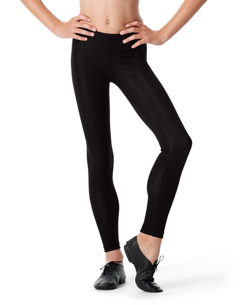Girls Ankle Leggings Rafaella BLACK