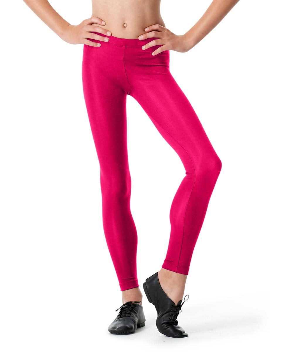 Girls Ankle Leggings Rafaella RASPBERRY