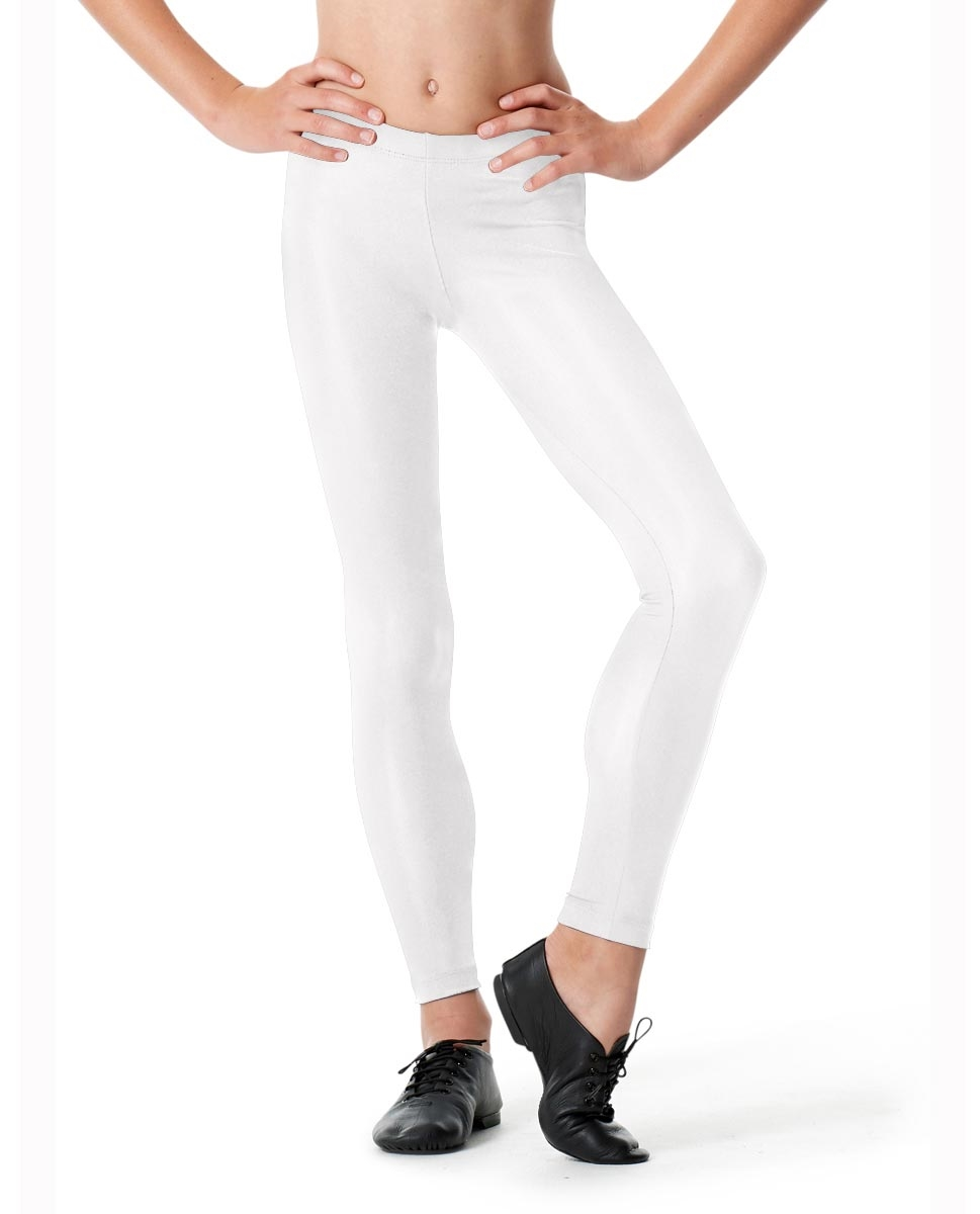 Girls Ankle Leggings Rafaella WHITE