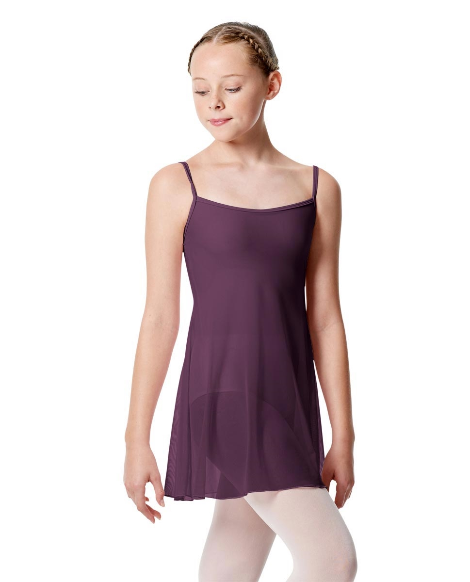 Girls Camisole Dance Dress Danielle AUBERGINE