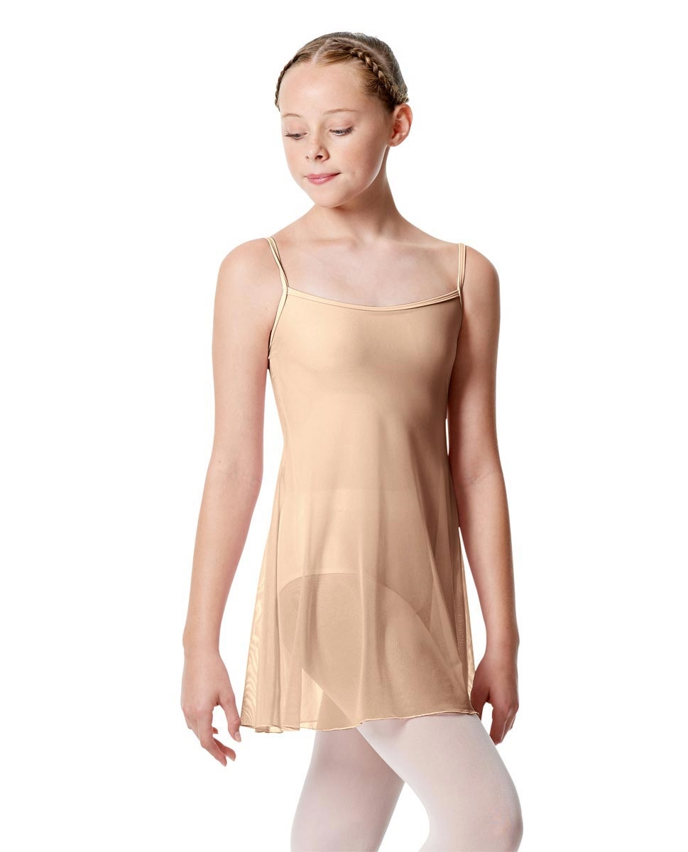 Girls Camisole Dance Dress Danielle NUDE
