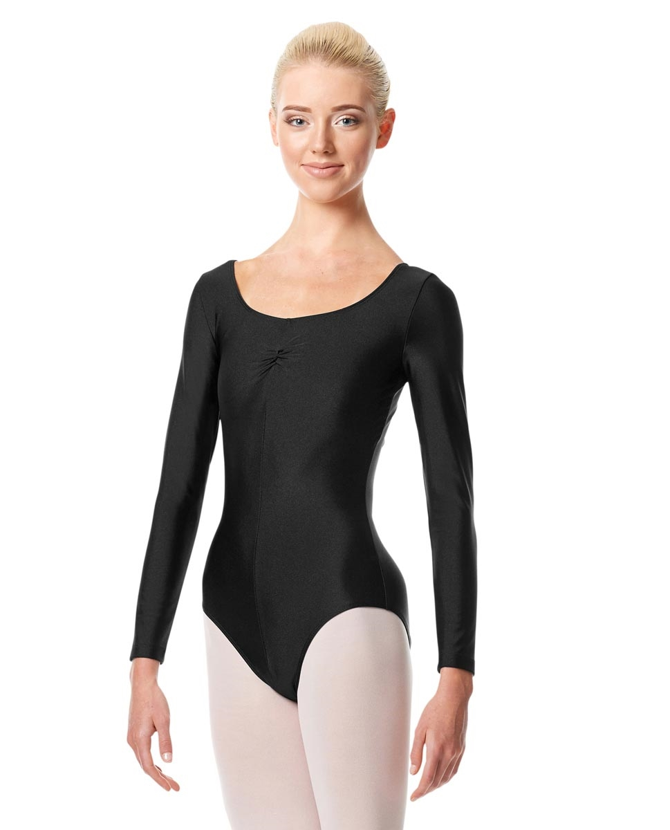 Long Sleeve Ballet Leotard Giselle BLACK