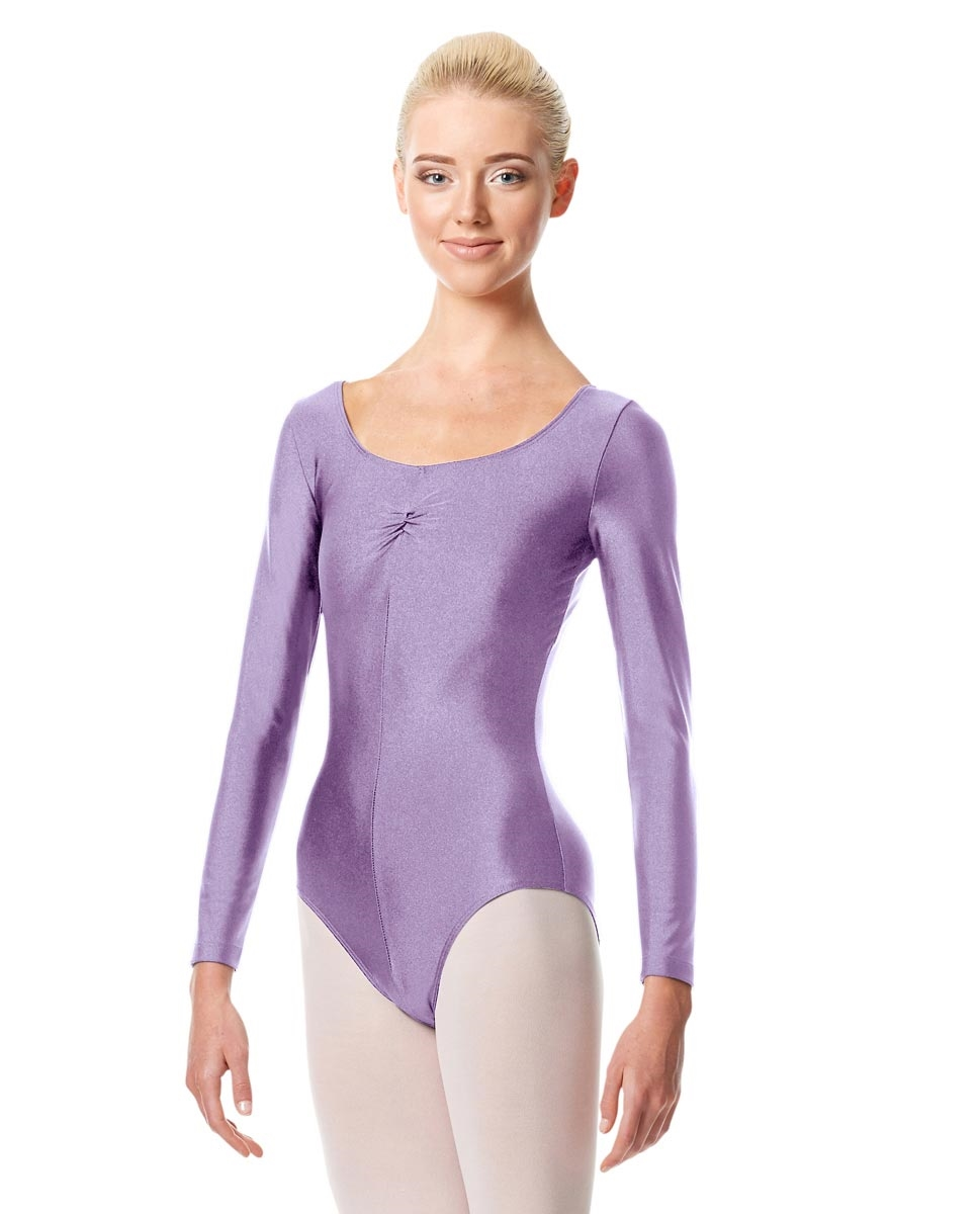 Long Sleeve Ballet Leotard Giselle LILAC