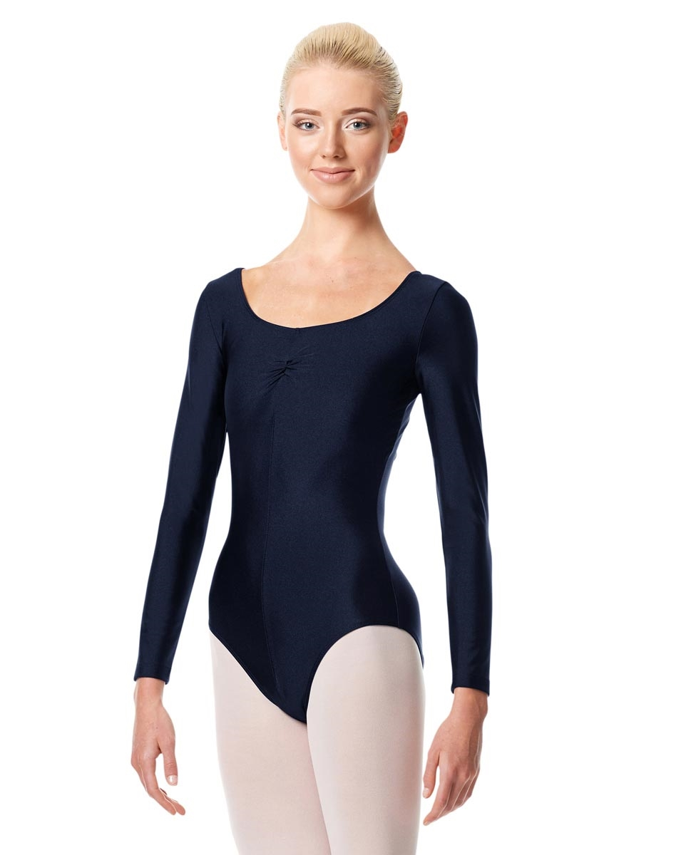 Long Sleeve Ballet Leotard Giselle NAVY
