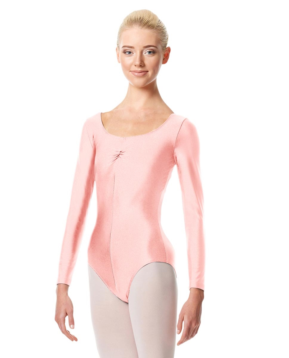 Long Sleeve Ballet Leotard Giselle PINK