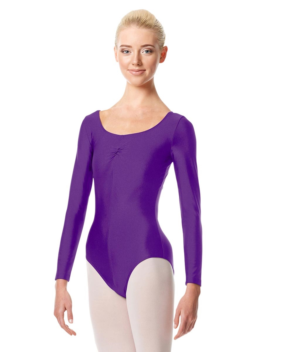 Long Sleeve Ballet Leotard Giselle PURPLE