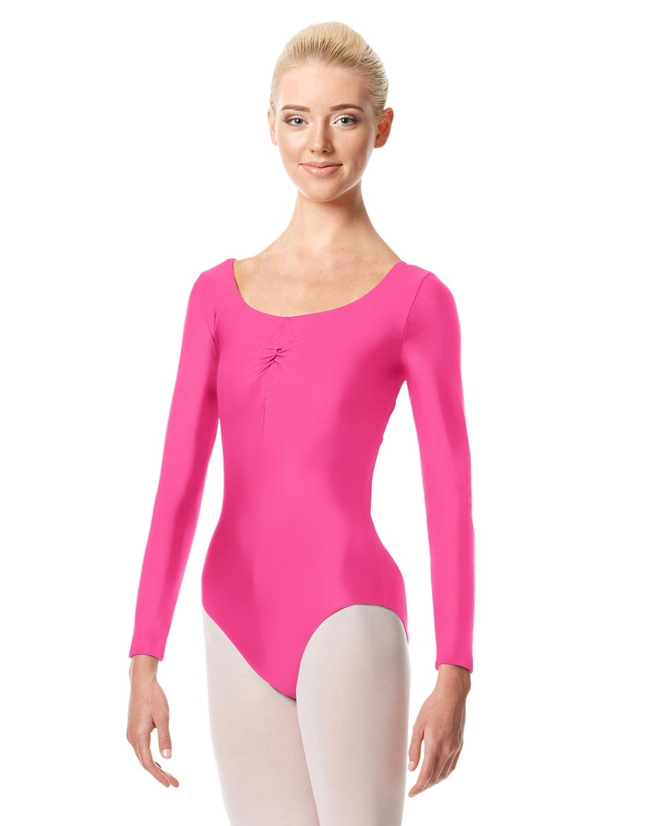 Long Sleeve Ballet Leotard Giselle ROSE