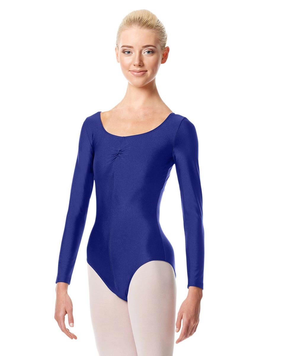 Long Sleeve Ballet Leotard Giselle ROYAL