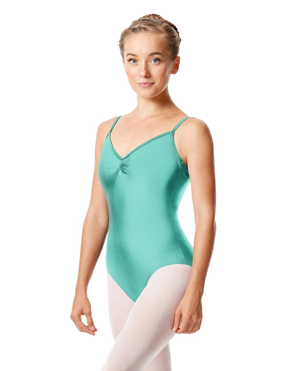 Sleeveless Dance Leotard Agnes AQUA BLUE