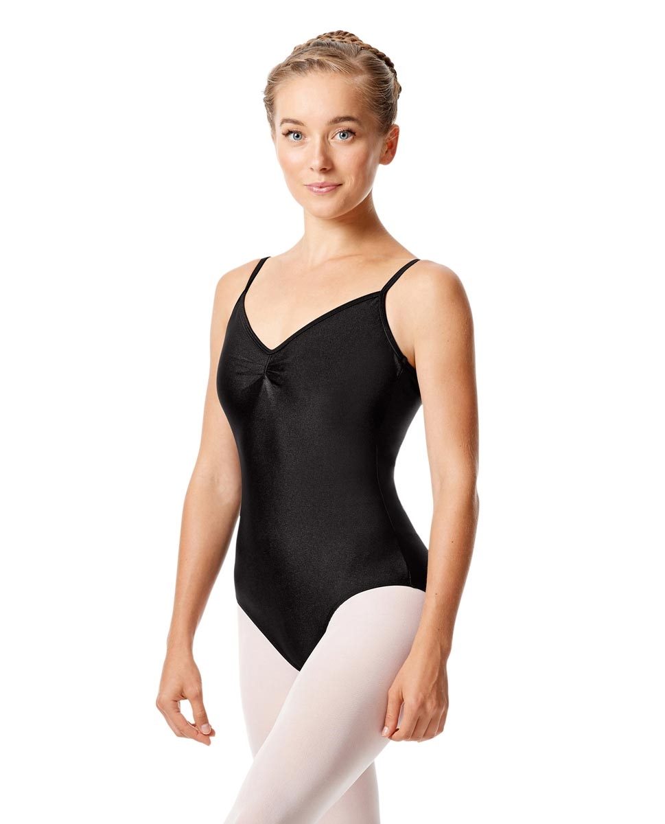 Sleeveless Dance Leotard Agnes BLACK