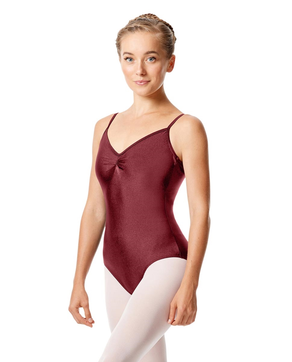 Sleeveless Dance Leotard Agnes BURGUNDY