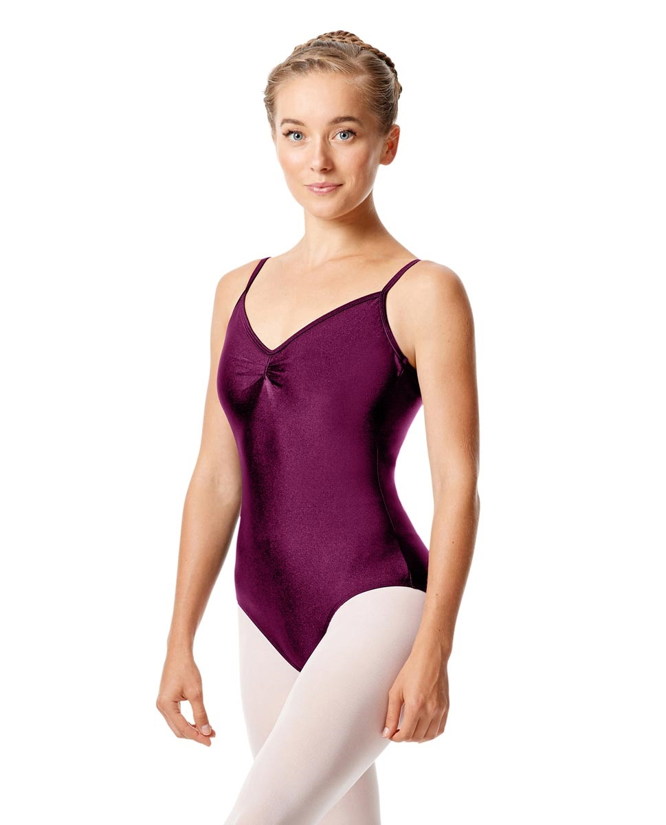 Sleeveless Dance Leotard Agnes EGGPLANT
