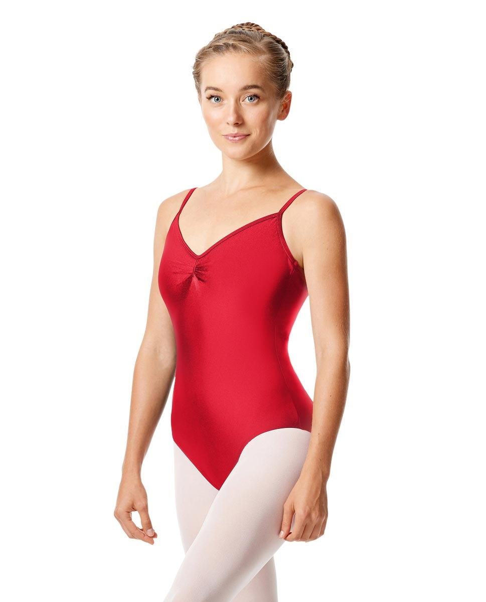 Sleeveless Dance Leotard Agnes RED