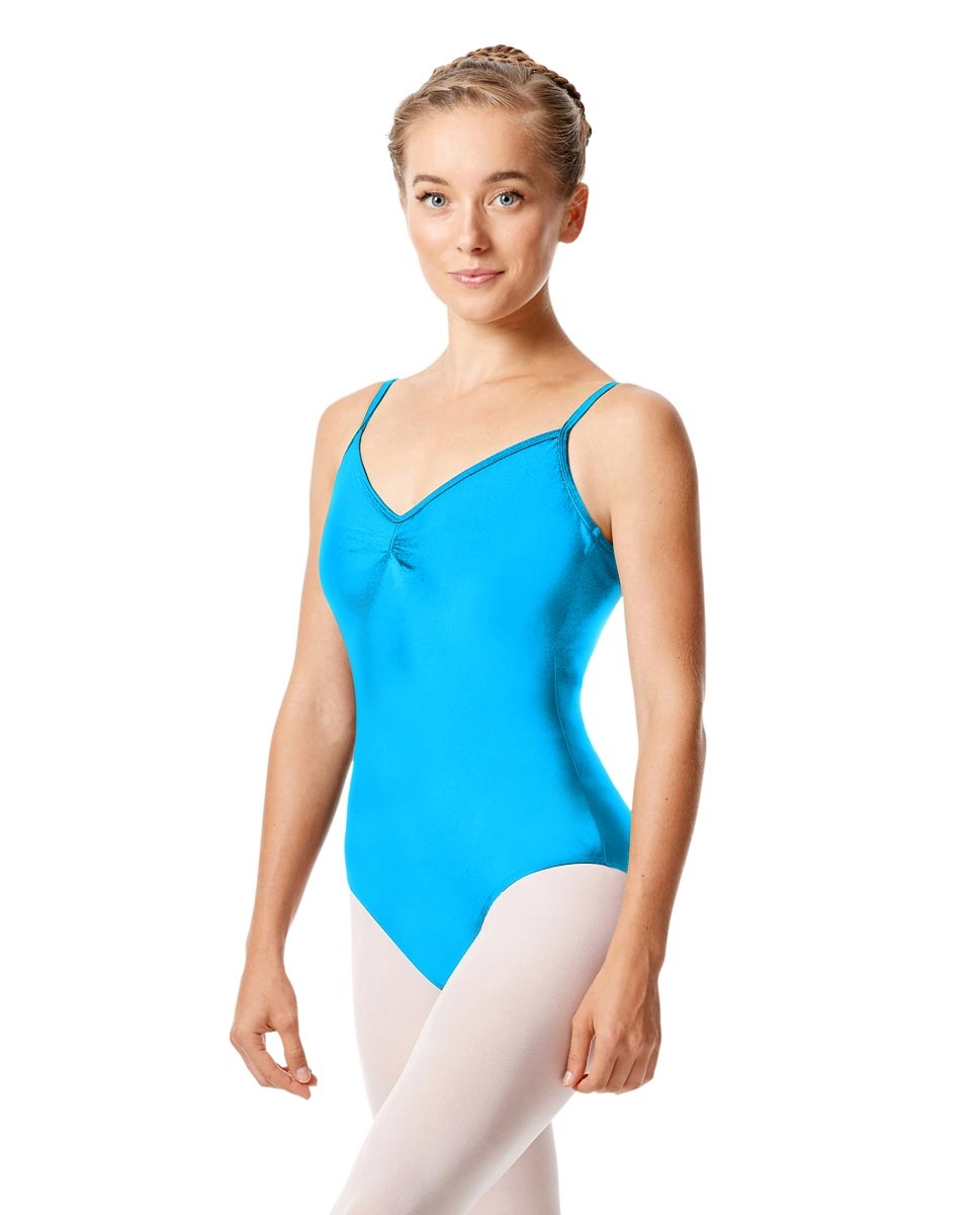 Sleeveless Dance Leotard Agnes TURQUOISE