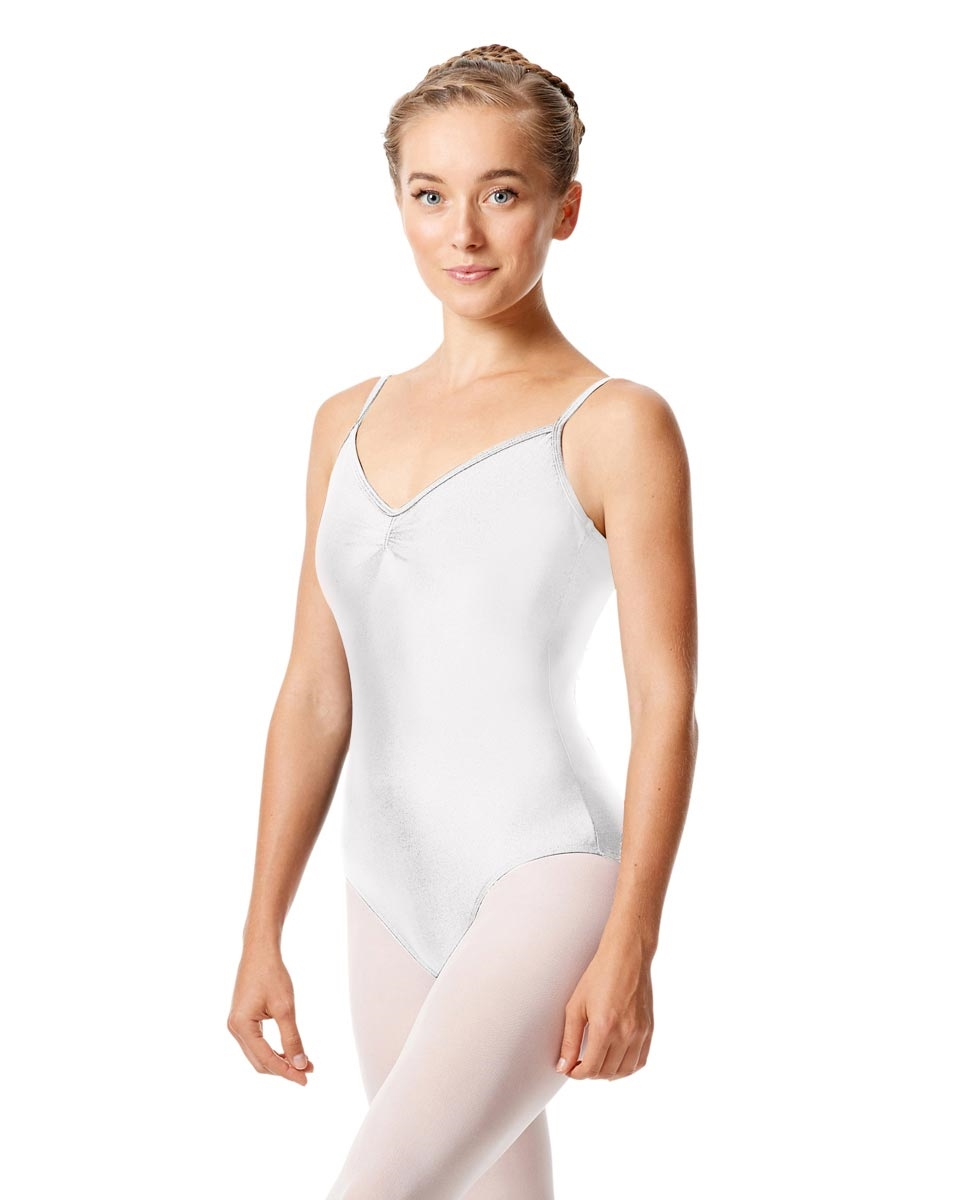 Sleeveless Dance Leotard Agnes WHITE