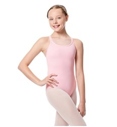 Girls Double Strap Camisole Leotard Larissa