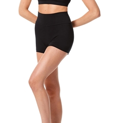Wide Waistband Dance Shorts Janet