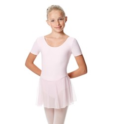 Girls Cap Sleeve Skirted Leotard Nelly