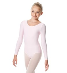 Girls Long Sleeve Leotard Sylvie