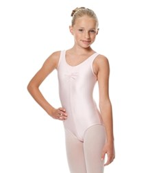 Girls Tank Shiny Lycra Dance Leotard Eleonore