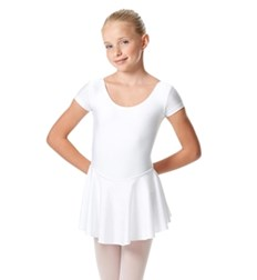 Girls Cap Sleeve Skirted Leotard Emmy