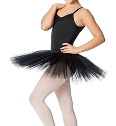 Girls Camisole 4 Layers Tutu Ballet Dress Vittoria