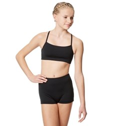 Girls Microfiber Camisole Dance Top Finley