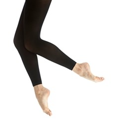 Children's Footless Microfiber Dance Tights
